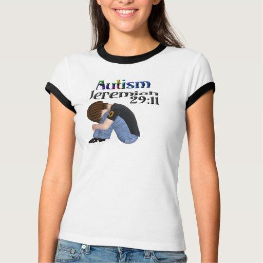 Camiseta del campanero del autismo del 29:11 de