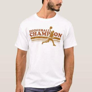 Camiseta del campanero del campeón de Dodgeball