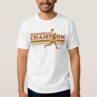 Camiseta del campanero del campeón de Dodgeball de Playera