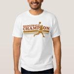 Camiseta del campanero del campeón de Dodgeball Playeras