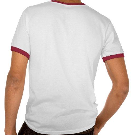 Camiseta del campanero del dibujo animado de Las