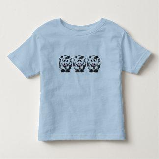 Camiseta del campanero del niño de 3 vacas