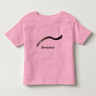 Camiseta del campanero del niño de Bronzeback