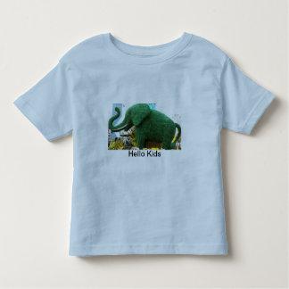 Camiseta del campanero del niño remeras