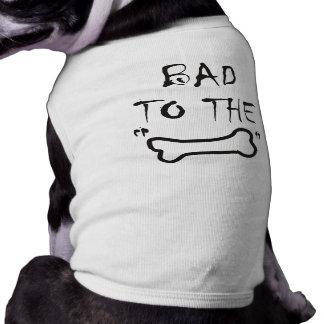 Camiseta del campanero del perrito playera sin mangas para perro