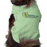 Camiseta del campanero del perrito camiseta de perrito