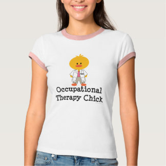 Camiseta del campanero del polluelo de la terapia remeras