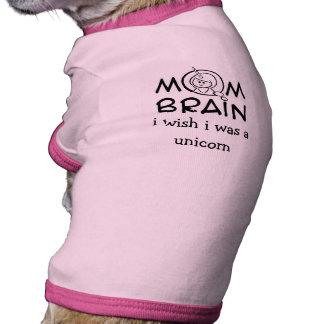 Camiseta del campanero del unicornio del perrito camisas de mascota