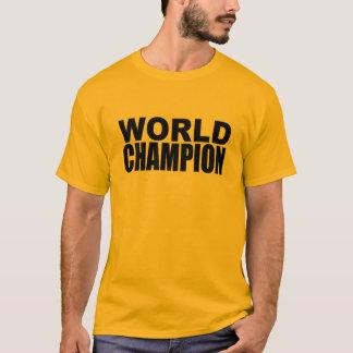 Camiseta del campeón del mundo