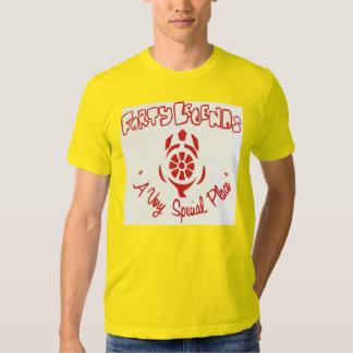 Camiseta del campo de cuarenta leyendas (roja en playeras