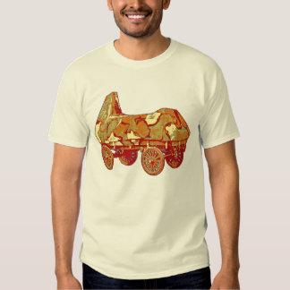 Camiseta del camuflaje poleras