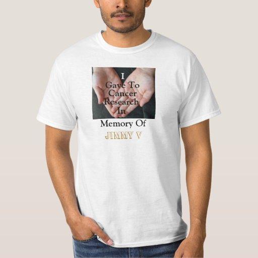 Camiseta del cáncer remeras