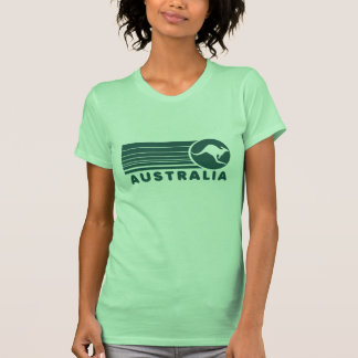 Camiseta del canguro de Australia del vintage