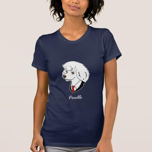 Camiseta del caniche