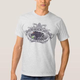 Camiseta del Cantina de la playa del rinoceronte Poleras
