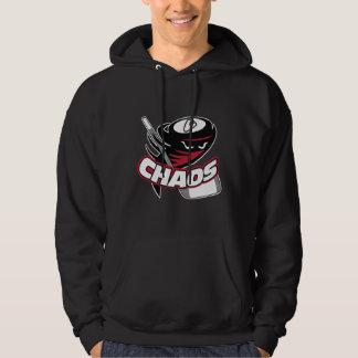 Camiseta del caos sudadera con capucha