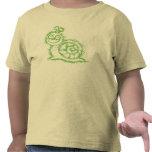 Camiseta del caracol de Sqiggle para los niños