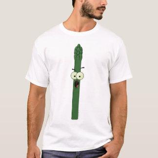 Camiseta del carácter del espárrago