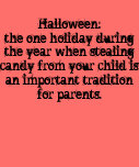 Camiseta del caramelo de Halloween