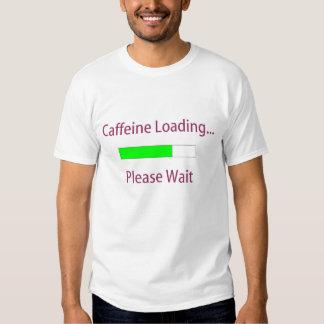 Camiseta del cargamento del cafeína remera