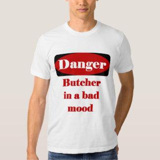 Camiseta del carnicero camisas