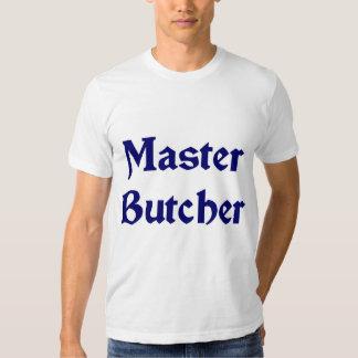 Camiseta del carnicero polera