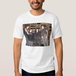 Camiseta del carril del engaño polera