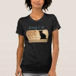 Camiseta del Cartouche del gato egipcio de rey Cat