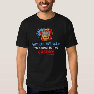 Camiseta del casino poleras