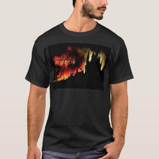 Camiseta del castillo del horror del reino,