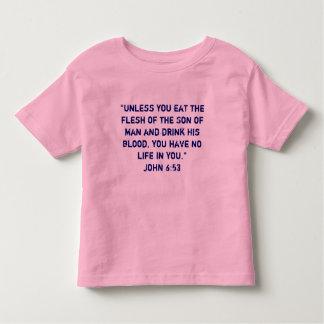 Camiseta del católico de la eucaristía playeras