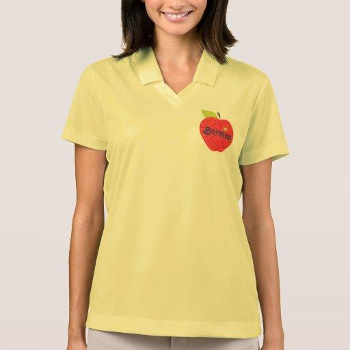 Camiseta del cazador de tesoros de Borman Apple Polos