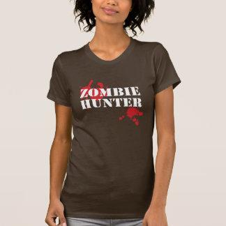 Camiseta del cazador del zombi de los chicas - remeras