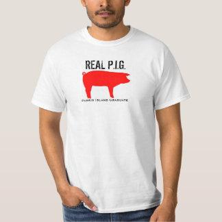 """Camiseta del """"CERDO"""" del graduado de la isla de Polera"""