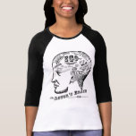 Camiseta del cerebro del actor remera