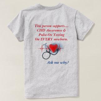 Camiseta del CHD de las mujeres Polera
