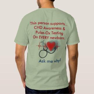 Camiseta del CHD de los hombres Poleras