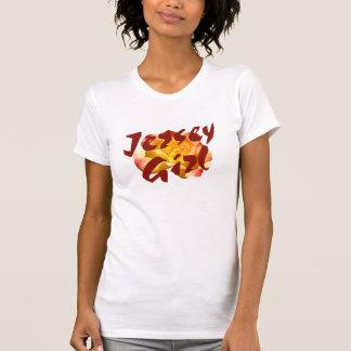 Camiseta del chica 1 del jersey