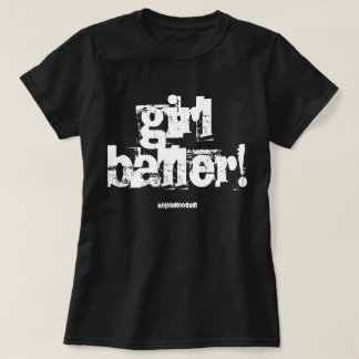 Camiseta del CHICA BALLER de la TIZA de NJF