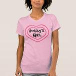 Camiseta del chica de Bobby Playera