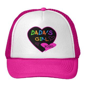 Camiseta del chica de Dada, taza, botón, imán, más Gorras De Camionero