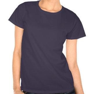 Camiseta del chica del vegano