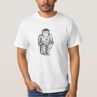 Camiseta del chimpancé playera