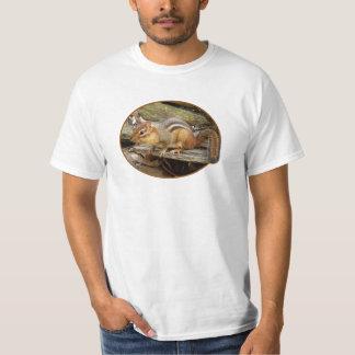 Camiseta del Chipmunk del este