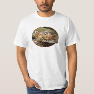 Camiseta del Chipmunk del este Remeras
