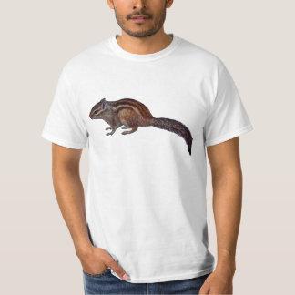 Camiseta del Chipmunk Playera