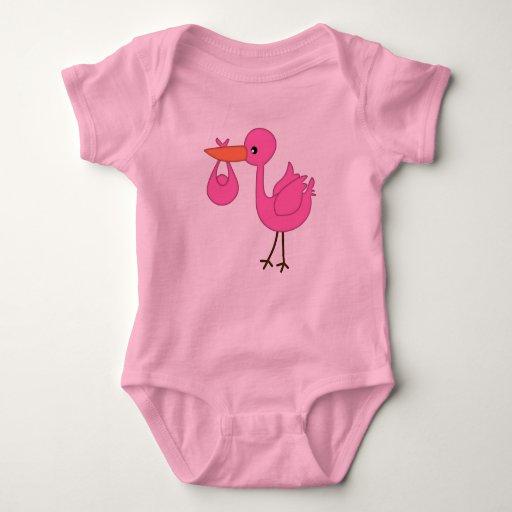 Camiseta del chirrido y del bebé