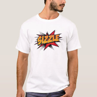 Camiseta del chisporroteo