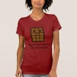 Camiseta del chocolate