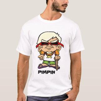 camiseta del chulo del surfie